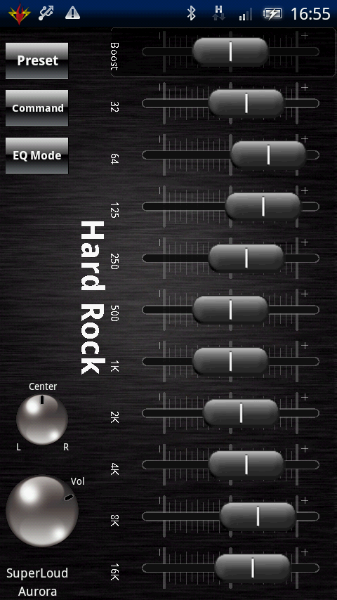 Audio Player - SuperLoud Aurora - CyberFort Android